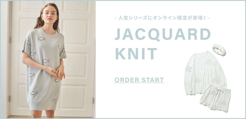 - 人気シリーズにオンライン限定が登場!- JACQUARD KNIT