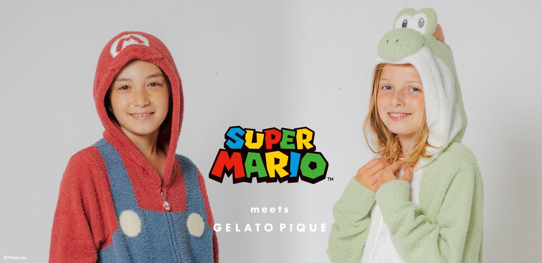 SUPER MARIO meets GELATO PIQUE 【JUNIOR SIZE】