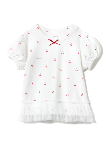 【BABY】チェリーチュールbabyTシャツ
