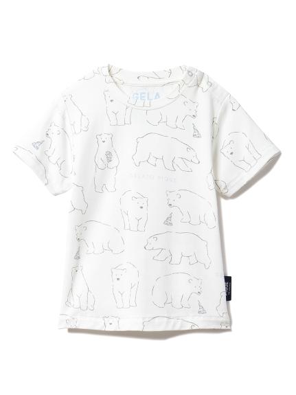 【BABY】【シロクマフェア】冷感 baby Tシャツ