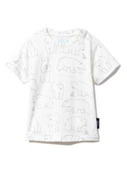 【BABY】【シロクマフェア】冷感 baby Tシャツ(OWHT-70)