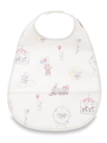 【BABY】ドリームランド baby お食事スタイ(PNK-F)