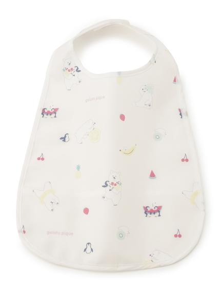 【BABY】シロクマフルーツ baby お食事スタイ(PNK-F)