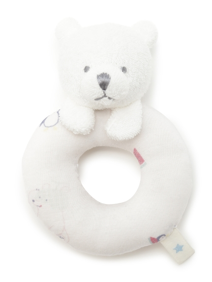 【BABY】シロクマフルーツ baby ガラガラ