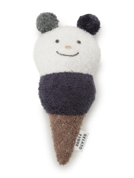 【BABY】'スムーズィー'アイスクリーム baby ガラガラ(OWHT-F)