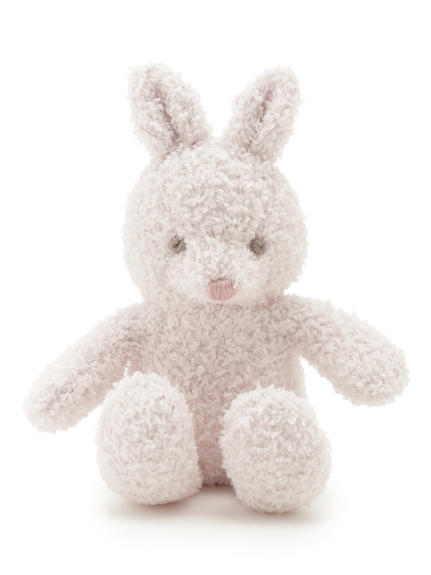 【BABY】'ベビモコ'ウサギ baby ガラガラ(PNK-F)