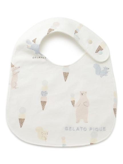 【BABY】アイスクリームアニマル baby スタイ