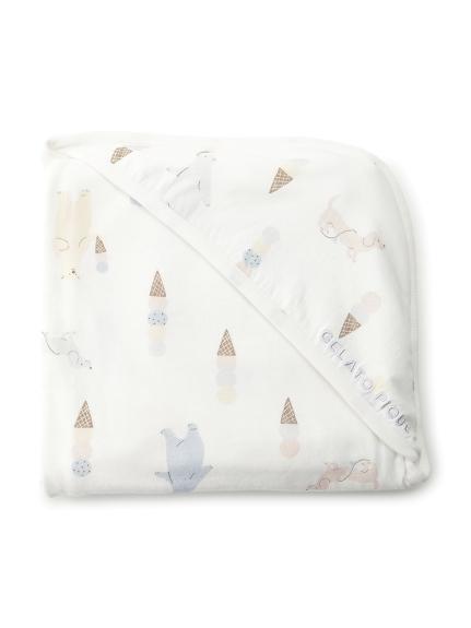 【BABY】アイスクリームアニマル baby ブランケット