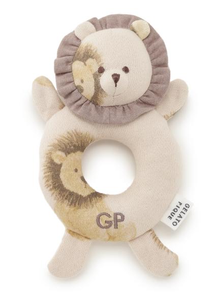 【BABY】ライオン baby ガラガラ(BEG-F)