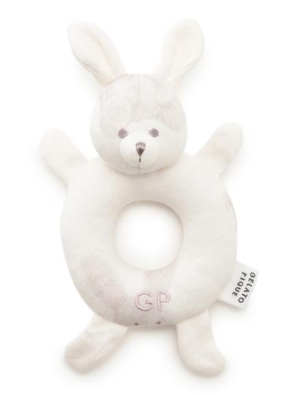 【BABY】ウサギ baby ガラガラ(PNK-F)