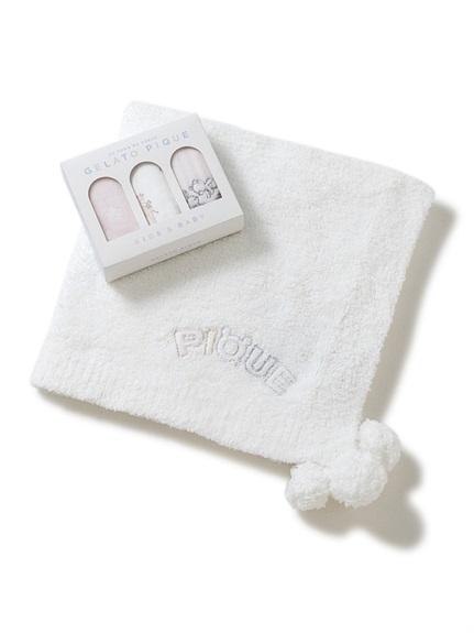 【ラッピング】BABYベーシックパウダーブランケット&お手拭きタオルSET