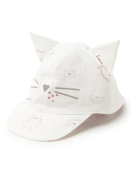 【BABY】ガールズモチーフ baby キャップ