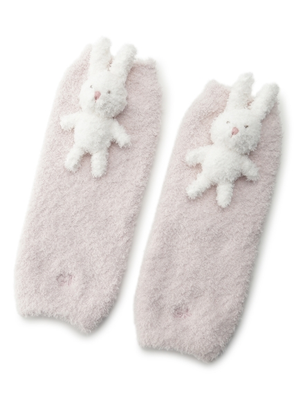 【BABY】'ベビモコ'ウサギ baby レッグウォーマー