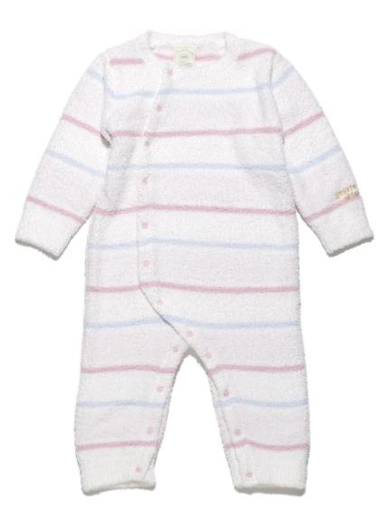 【BABY】'ベビモコ'4ボーダー baby ロンパース