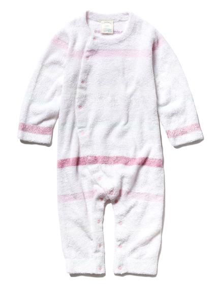 【BABY】'スムーズィー'5ボーダー baby ロンパース