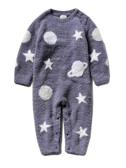 【BABY】'パウダー'コスモジャガード baby ロンパース