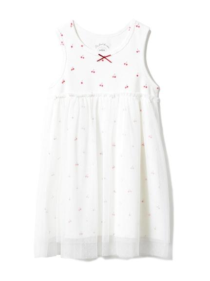 【KIDS】チェリーチュールkidsドレス