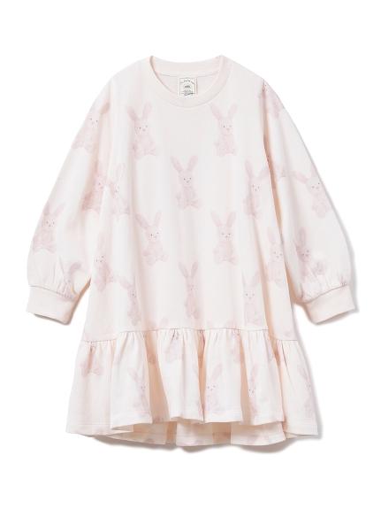 【KIDS】ウサギ kids ドレス(PNK-XXS)