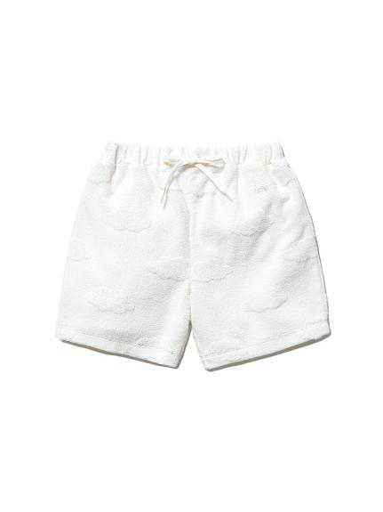 【KIDS】雲パイル kids ショートパンツ(OWHT-XXS)