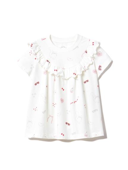 【KIDS】ガールズモチーフ kids Tシャツ