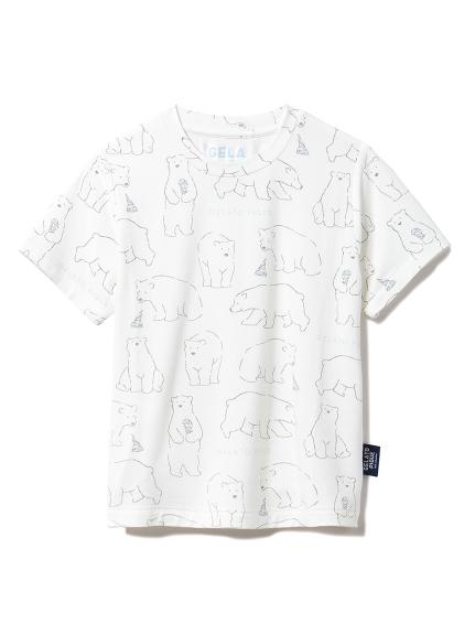 【KIDS】【シロクマフェア】冷感 kids Tシャツ(OWHT-XXS)