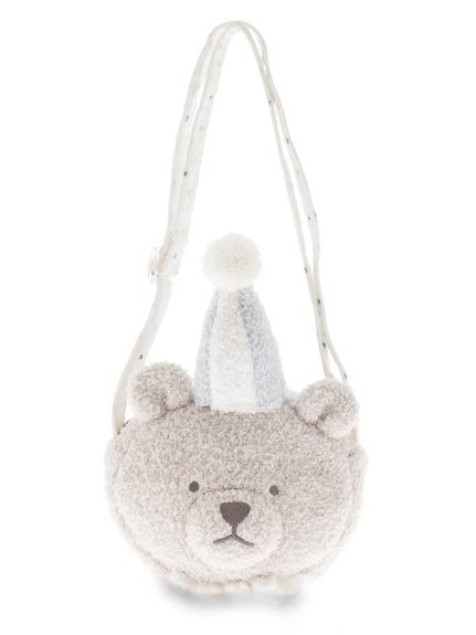 【KIDS】ドリームランドクマ kids ショルダーバッグ(BLU-F)