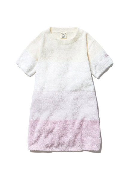 【KIDS】'スムーズィー'ブロックボーダー kids ドレス