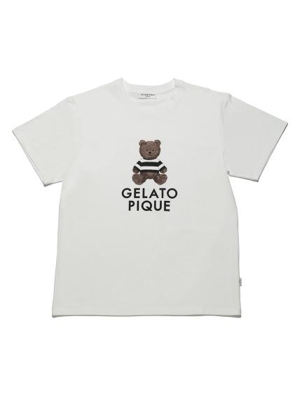 【GELATO PIQUE HOMME】テディベアTシャツ