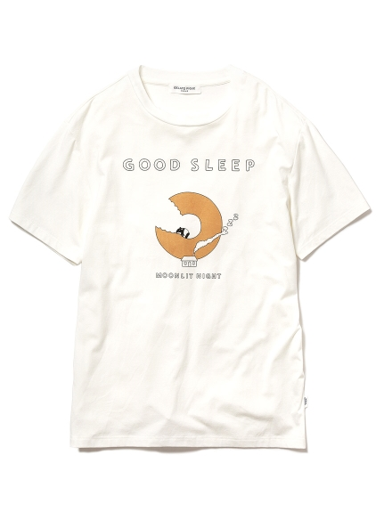 【GELATO PIQUE HOMME】GOOD SLEEPワンポイントTシャツ