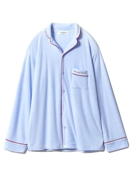 【GELATOPIQUEHOMME】ミニパイルシャツ(BLU-M)