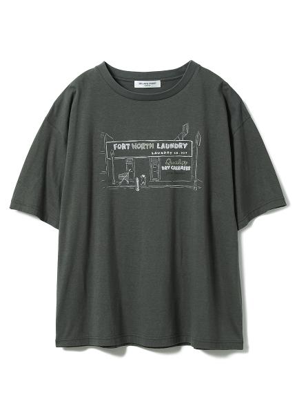 【GELATOPIQUEHOMME】レーヨンロゴTシャツ