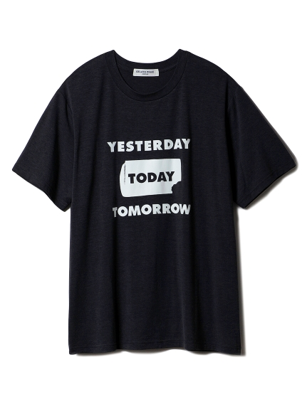【GELATOPIQUEHOMME】アイスワンポイントTシャツ(DGRY-M)