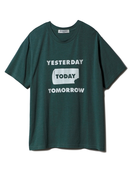 【GELATOPIQUEHOMME】アイスワンポイントTシャツ(GRN-M)