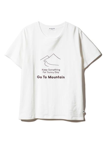 【GELATOPIQUEHOMME】マウンテンワンポイントTシャツ(OWHT-M)