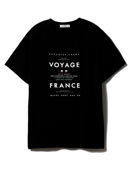 【Joel Robuchon & gelato pique】HOMME クルーズTシャツ(BLK-M)