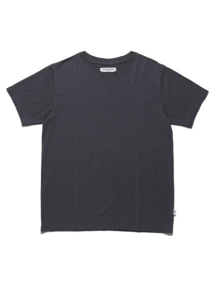 【GELATO PIQUE HOMME】クールコットンTシャツ(GRY-M)