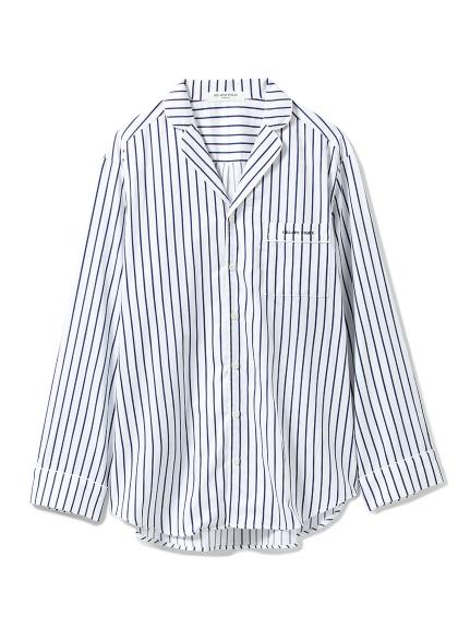 【GELATO PIQUE HOMME】ストライプシャツ