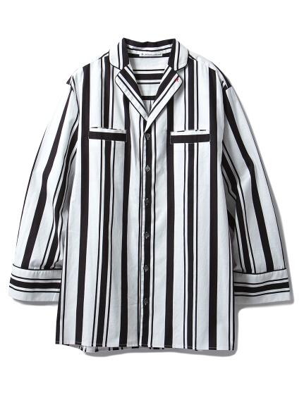 【Joel Robuchon & gelato pique】HOMMEストライプシャツ