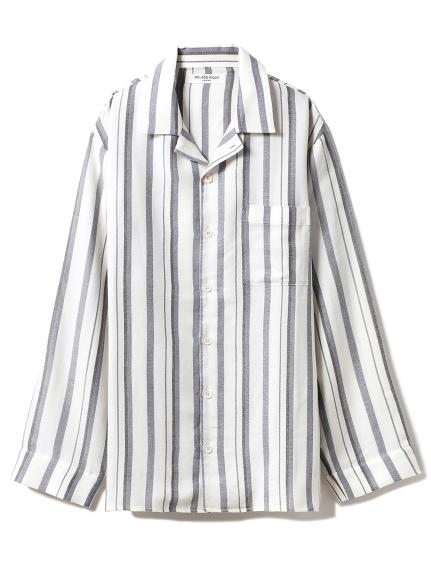 【GELATO PIQUE HOMME】ストライプシャツ(OWHT-M)