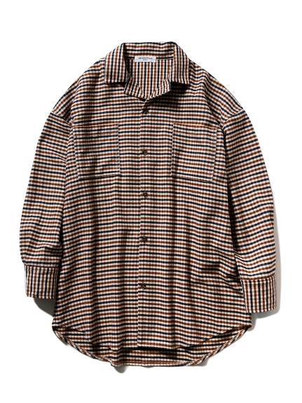 【GELATO PIQUE HOMME】ネルシャツ