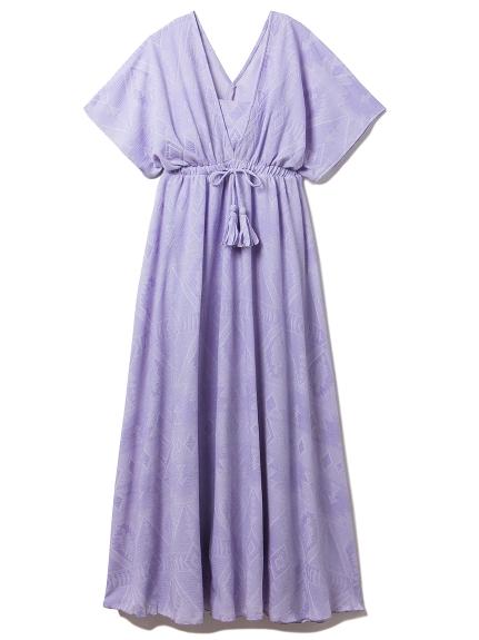 エスニックジャカードロングドレス