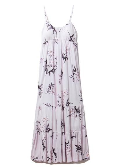 サマーフラワーロングドレス