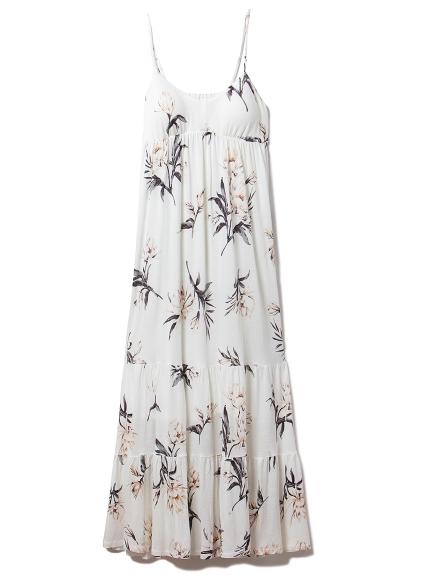 サマーフラワーロングドレス(OWHT-F)