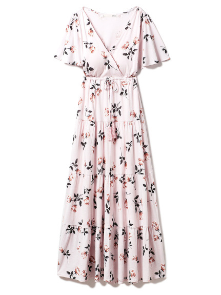 ヴィンテージローズロングドレス