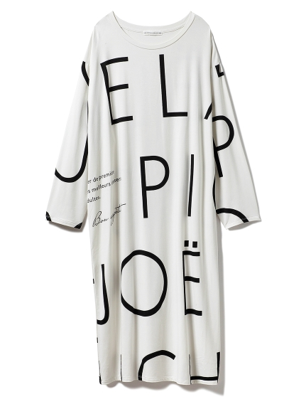 【Joel Robuchon & gelato pique】ロゴドレス
