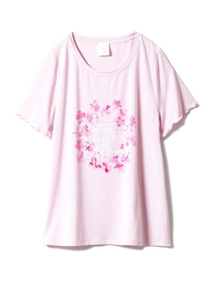【SAKURA FAIR】チェリーブロッサムワンポイントTシャツ
