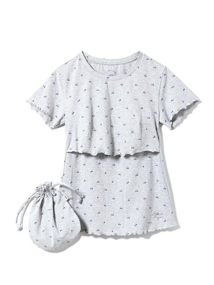 チェリー授乳Tシャツ