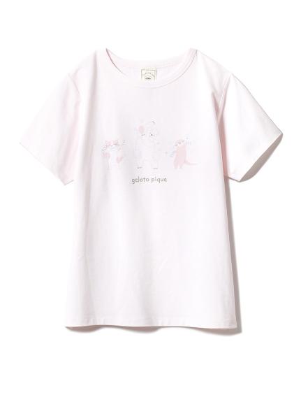 アニマルバスタイムワンポイントTシャツ