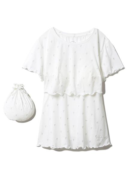 デイジーマタニティ授乳Tシャツ