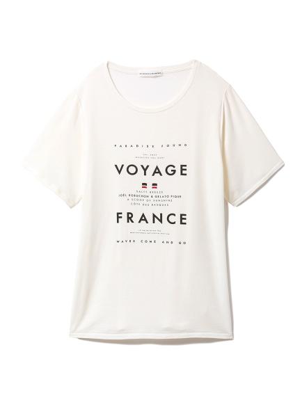 【Joel Robuchon & gelato pique】クルーズTシャツ